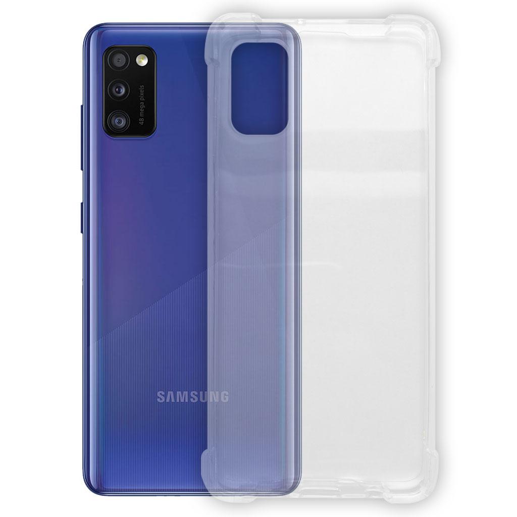 Samsung hoesjes Siliconen hoesje voor Samsung Galaxy A01 – Transparant