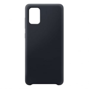 Samsung hoesjes Samsung – Galaxy A71 – Siliconen hoesje – Zwart