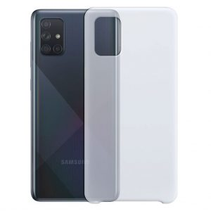 Samsung hoesjes Siliconen hoesje voor Samsung Galaxy A71 – Transparant