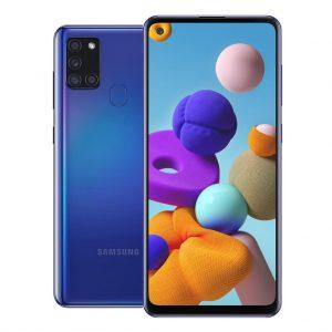 Samsung Phones Samsung – Galaxy A21S – Dual-Sim – 32GB – Blauw