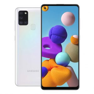 Samsung Phones Samsung – Galaxy A21S – Dual-Sim – 32GB – Wit