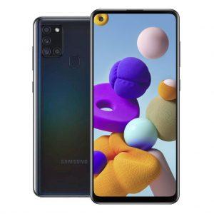 Samsung Phones Samsung – Galaxy A21S – Dual-Sim – 32GB – Zwart