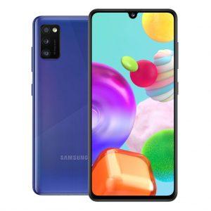 Samsung Phones Samsung – Galaxy A41 – Dual-Sim – 64GB – Crush Blue
