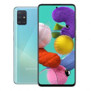 Samsung Phones Samsung – Galaxy A51 – Dual-Sim – 128GB – Crush Blue