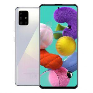 Samsung Phones Samsung – Galaxy A51 – Dual-Sim – 128GB – Crush White