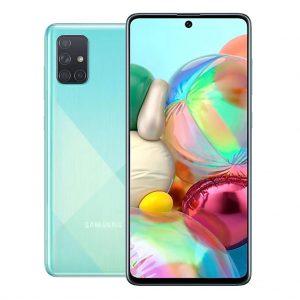 Samsung Phones Samsung – Galaxy A71 – Dual-Sim – 128GB – Crush Blue