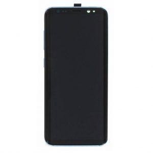 S8 LCD / Scherm met frame voor Samsung Galaxy S8 – Origineel – Service pack – Blauw