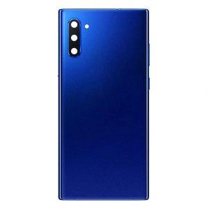 Note 10 Achterkant met camera lens voor Samsung Galaxy Note 10 – Blauw