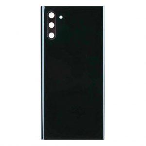 Note 10 Achterkant met camera lens voor Samsung Galaxy Note 10 – Zwart