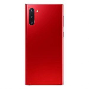 Note 10 Plus Achterkant met camera lens voor Samsung Galaxy Note 10 Plus – Rood