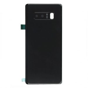 Note 8 Achterkant met camera lens voor Samsung Galaxy Note 8 – Zwart