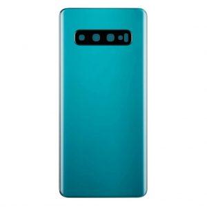 S10 Achterkant met camera lens voor Samsung Galaxy S10 – Groen