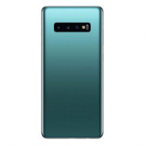S10 Plus Achterkant met camera lens voor Samsung Galaxy S10 Plus – Groen