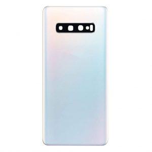 S10 Plus Achterkant met camera lens voor Samsung Galaxy S10 Plus – Wit
