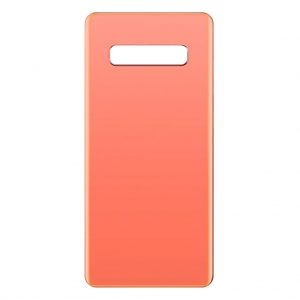 S10 Plus Samsung – Galaxy S10 Plus – Achterkant – Oranje