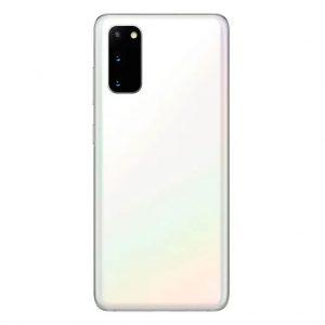 S20 Achterkant met camera lens voor Samsung Galaxy S20 – Wit