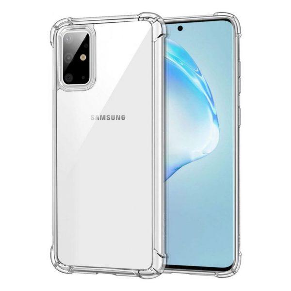 Samsung hoesjes Siliconen hoesje voor Samsung Galaxy S20 Plus – Transparant