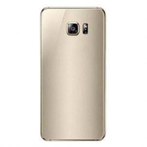 S6 Achterkant met camera lens voor Samsung Galaxy S6 – Goud