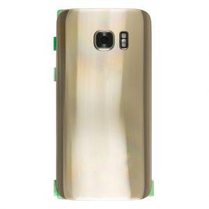 S7 Achterkant met camera lens voor Samsung Galaxy S7 – Goud