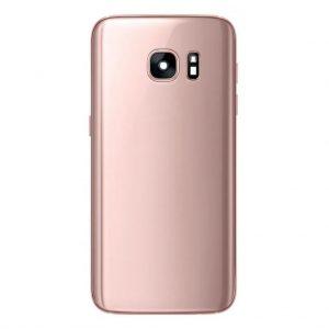S7 Achterkant met camera lens voor Samsung Galaxy S7 – Roze