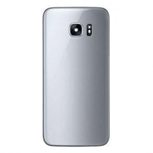 S7 Achterkant met camera lens voor Samsung Galaxy S7 – Zilver