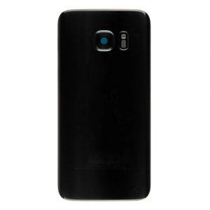 S7 Achterkant met camera lens voor Samsung Galaxy S7 – Zwart