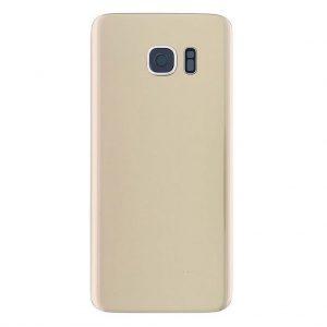 S7 Edge Achterkant met camera lens voor Samsung Galaxy S7 Edge – Goud