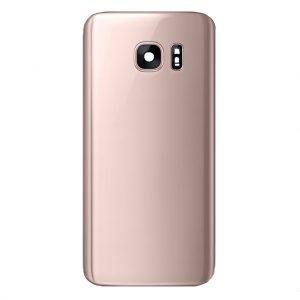 S7 Edge Achterkant met camera lens voor Samsung Galaxy S7 Edge – Roze