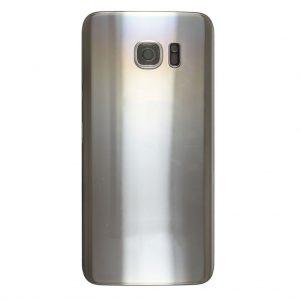 S7 Edge Achterkant met camera lens voor Samsung Galaxy S7 Edge – Zilver
