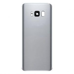 S8 Achterkant met camera lens voor Samsung Galaxy S8 – Zilver