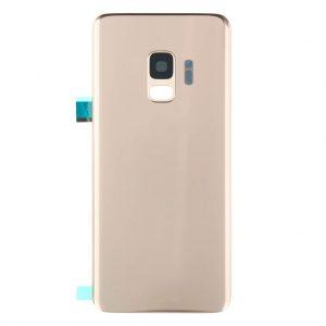 S9 Achterkant met camera lens voor Samsung Galaxy S9 – Goud