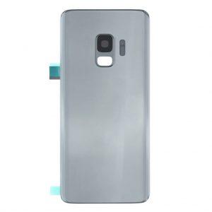 S9 Achterkant met camera lens voor Samsung Galaxy S9 – Zilver