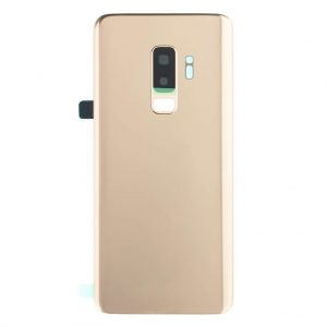 S9 Plus Achterkant met camera lens voor Samsung Galaxy S9 Plus – Goud