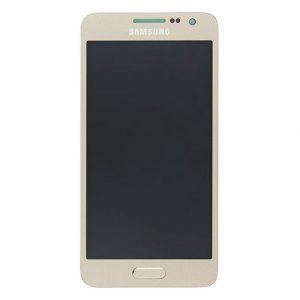 A3 2015 LCD / Scherm voor Samsung Galaxy A3 – Origineel – Service pack – Goud