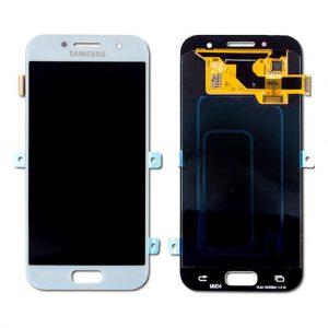 A3 2017 LCD / Scherm voor Samsung Galaxy A3 (2017) – Origineel – Service pack – Blauw