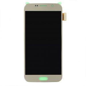 S6 LCD / Scherm voor Samsung Galaxy S6 – Origineel – Service pack – Goud