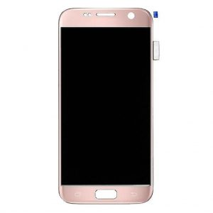 S7 LCD / Scherm voor Samsung Galaxy S7 – Origineel – Service pack – Roze