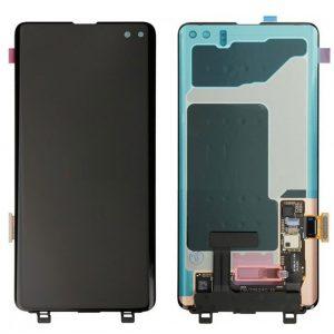 S8 LCD / Scherm met frame voor Samsung Galaxy S8 – Origineel – Service pack – Goud