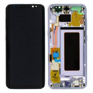 S8 LCD / Scherm met frame voor Samsung Galaxy S8 – Origineel – Service pack – Paars