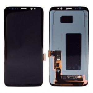 S8 Samsung – SM-G950f – Galaxy S8 – LCD met frame – Zwart