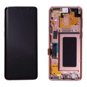 S9 Plus LCD / Scherm met frame voor Samsung Galaxy S9 Plus – Origineel – Service pack – Goud