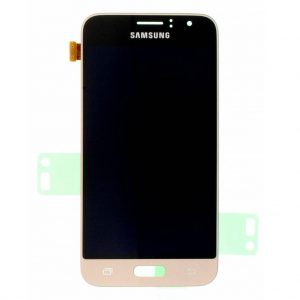 J1 2016 LCD / Scherm voor Samsung Galaxy J1 (2016) – Origineel – Service pack – Goud