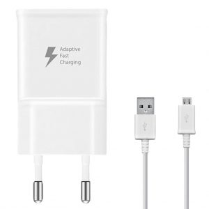 Kabels Samsung – Travel Adapter – 2A – Micro naar USB – OEM – Wit