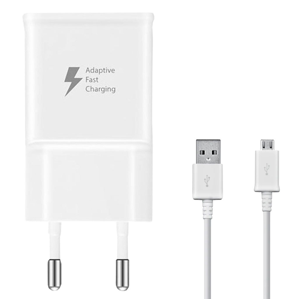 Kabels Samsung – Galaxy Micro USB naar USB – Datakabel – OEM – Wit