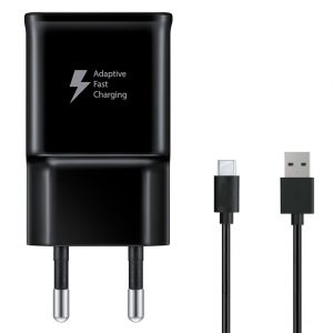 Kabels Samsung – Travel Adapter – 2A – USB-C naar USB – OEM – Zwart