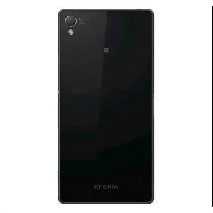 Xperia Z3 Achterkant met camera lens voor Sony Xperia Z3 – Zwart