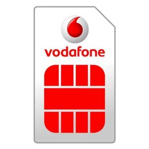 Apple phones Vodafone – Prepaid – SIM card