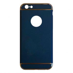 Apple hoesjes Fit Fashion – Hardcase Hoesje –  Geschikt voor iPhone 6 Plus/6S Plus – Blauw