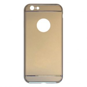 Apple hoesjes Fit Fashion – Hardcase Hoesje –  Geschikt voor iPhone 6 Plus/6S Plus – Goud