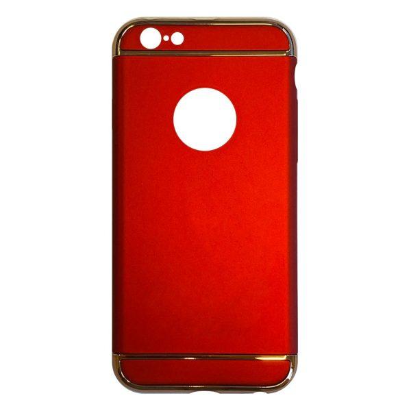 Apple hoesjes Fit Fashion – Hardcase Hoesje –  Geschikt voor iPhone 6 Plus/6S Plus – Rood